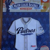 MLB Patch Emblem San Diego Padres Mini Jersey Replica Shape Official Licensed