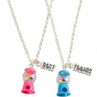 NWT Justice Girls BFF Best Friends 2pc & 3pc Necklace Sets U Pick Style! NEW