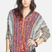 Free People 'Make My Day' Poncho | Nordstrom