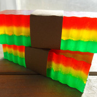 Rastafarian Jamacian Weed Scented Soap Bars by SouthernSudsNScents