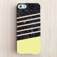 iPhone 6 Case, iPhone 6 Plus Case, iPhone 5S Case, iPhone 5 Case, iPhone 5C Case, iPhone 4S Case, iPhone 4 Case - Marble Dip Light Yellow