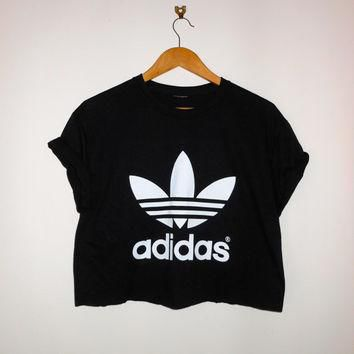 classic back adidas swag sexy style crop top tshirt fresh boss dope celebrity festival