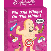Bachelorette Party Favors Pin The Widget On The Midget