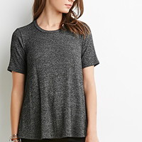 Marled Trapeze Top