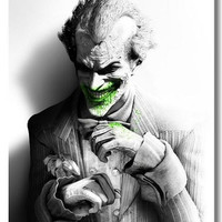 Batman Arkham City batman arkham origin Game Silk Wall Posters  Pictures for Home Room Decor 24x36inch Joker 26 (Size: 60cm by 90cm) = 1928068228