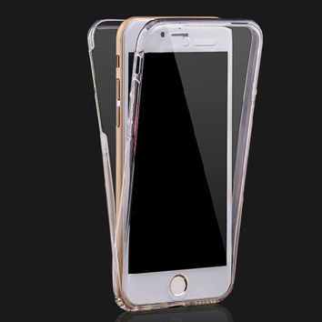 Best Comprehensive Protection iPhone 7 7 Plus & iPhone 6 6s Plus & iPhone 8 X Case Cover + Gift Box