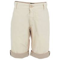 Fendi Beige Lightweight Cotton Shorts | AlexandAlexa