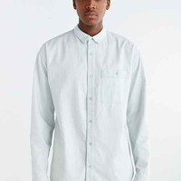 Your Neighbors Box-Fit Denim Button-Down