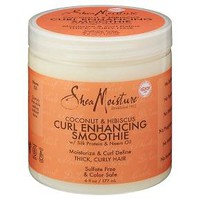 SheaMoisture® Coconut & Hibiscus Curl Enhancing Smoothie with Silk Protein and Neem Oil 6 oz : Target