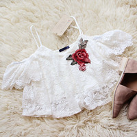 Daines Top in White