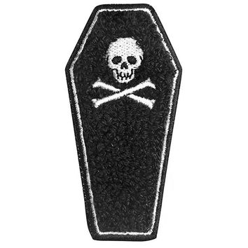 Coffin Chenille Large Patch