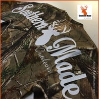 "Southern Made ""Outdoors"" Realtree Long Sleeve T-Shirt with Pocket"