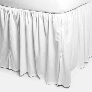 Extra Long Bedskirt (Pre-order item. Ships by July 9, 2018)
