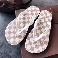 shosouvenir Louis Vuitton LV Flip-flop beach shoes (5 colors)