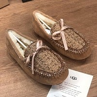 UGG Fashion Hot Sellers Casual Ladies Flats Shoes