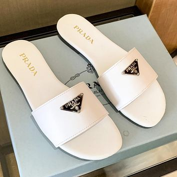 Prada summer new women's shoes slippers shoes