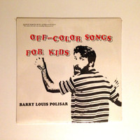 Rare Sealed Vinyl Record Barry Louis Polisar Off Color Songs For Kids LP Album 1983 The Caterpillar