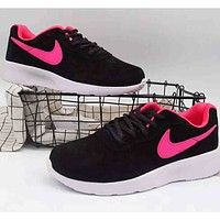 NIKE London Dash Full Pig Eight Fashion Casual Shoes F-A36H-MY black/rose red
