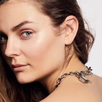 Free People Pave Diamond Lock Choker