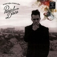 Panic! At The Disco Too Weird To Live Too Rare To Die LP Vinyl DL