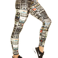 Womens Mixtapes Performance Leggings