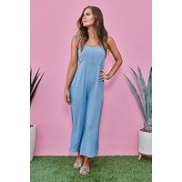 Reach For The Sky Jumpsuit (Blue)