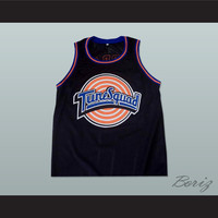 Michael Jordan Space Jam Tune Squad Black Basketball Jersey Any Size Made to Order ALL Sewn