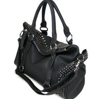 MyLux Connection Faux Leather Hobo Purse