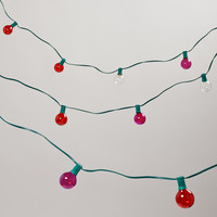 FUCHSIA AND RED COLORED 10 BULB STRING LIGHTS