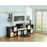 Walmart: Better Homes and Gardens 11-Cube Organizer, Wall Unit, Multiple Colors