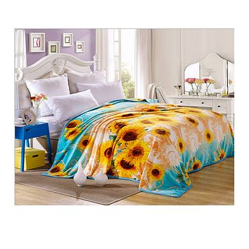 Cloud Mink Cashmere Thick Warm Blanket Flannel lBanket Gift Blanket Bunk Specials  01