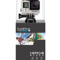 GOPRO HERO4 Black Video Camera | Video Cameras