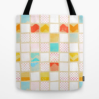 morning news Tote Bag by spinL