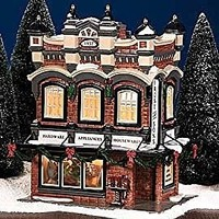 "Department 56 Snow Village ""Frost And Sons 5 & Dime"""