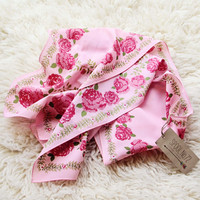 Shaded Rose Vintage Scarf