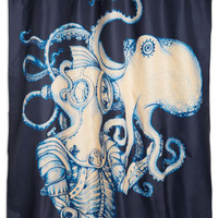 Nautical Underwater Introduction Shower Curtain by ModCloth