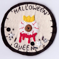 Limited Edition Embellished Halloween Queen Patch