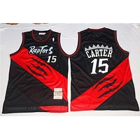 Classic NBA Basketball Jerseys Toronto Raptors #15 Vince Carter