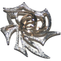 Vintage Silver and Gold Tone Brooch