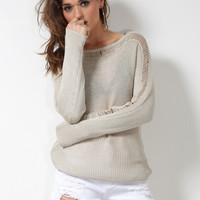 BB Dakota Beretta Sweater - Oatmeal