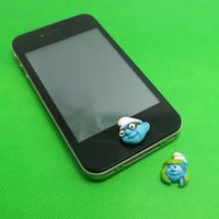 Lovely The Smurfs Smurfette Home Button Sticker for by Polaris798