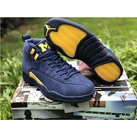 Air Jordan 12 - Michigan BQ3180-407