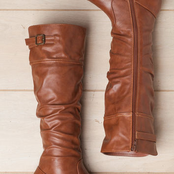 Take a Walk With Me Chestnut Boot
