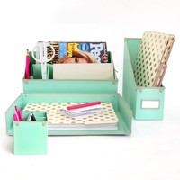 Mint to Be Desk Collection