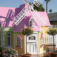 Sophies Magical Windmill Playhouse : Luxury Playhouses at PoshTots