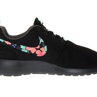 Roshe Custom Floral Made to Order Womens Shoes Nike Rosherun Hand Painted Hawaiin Flowers