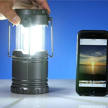 Set of 4 Bell and Howell Mini Tac Lanterns