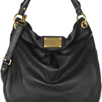 Marc by Marc Jacobs - The Classic Q Hillier Hobo textured-leather shoulder bag