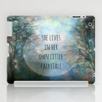 Her Own Fairytale iPad Case by Ally Coxon