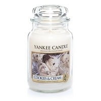 Cookies and Cream : Large Jar Candles : Yankee Candle